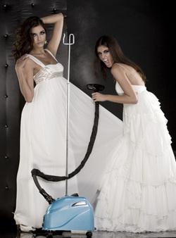 Химчистка кружевного свадебного платья